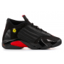 Nike Air Jordan Retro 14 Black (черные высокие)