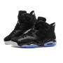 Nike Air Jordan Retro 6 Black (Черные космос)