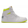 Nike Air Jordan Retro 6 White (Бело-кислотные)