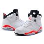 Nike Air Jordan Retro 6 White (Белые) Арт1