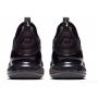 Nike Air Max 270 black/white (черные с белым)