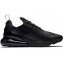 Nike Air Max 270 black (черные полностью)