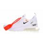 Nike Air Max 270 Off White (офф вайт белые)