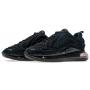 Nike Air Max 720 black (черные)
