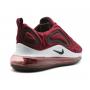 Nike Air Max 720 cherry/white (бордовые с белым)