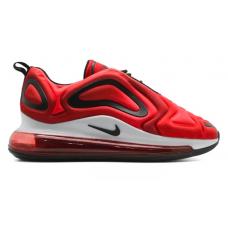 Nike Air Max 720 red/white (красные с белым)