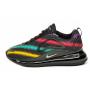 Nike Air Max 720 black (черные в полоску)