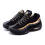 Nike Air Max 95 black/golden (черные с золотым)
