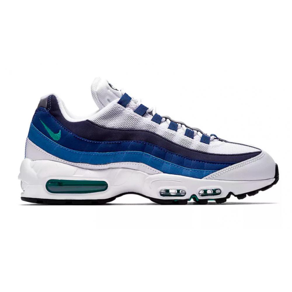Nike Air Max 95 blue/white (белые с синим)