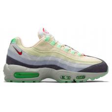 Nike Air Max 95 grey green (серые с зеленым)