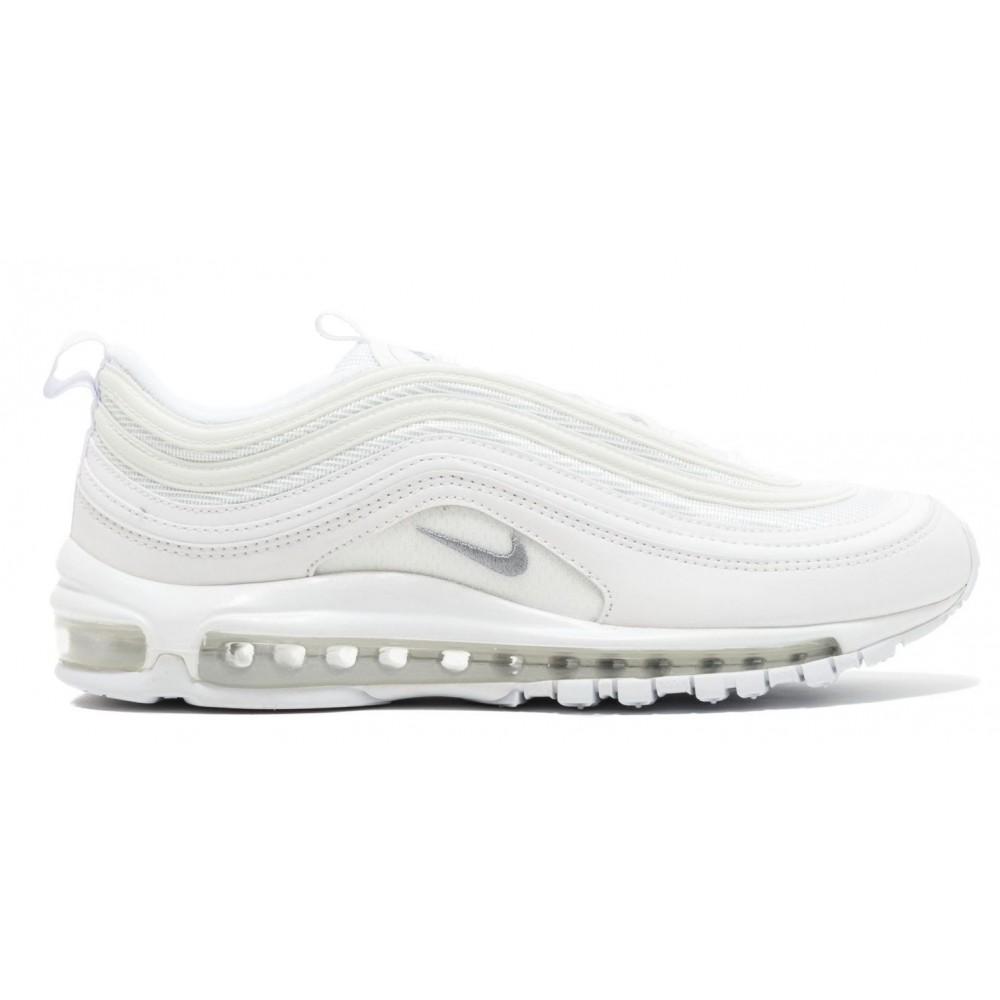 Nike Air Max 97 white (белые полностью)
