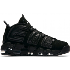 Nike Air More Uptempo 96 Supreme black (черные)