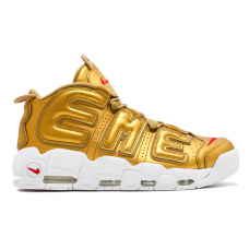 Nike Air More Uptempo 96 Supreme gold (золотые)
