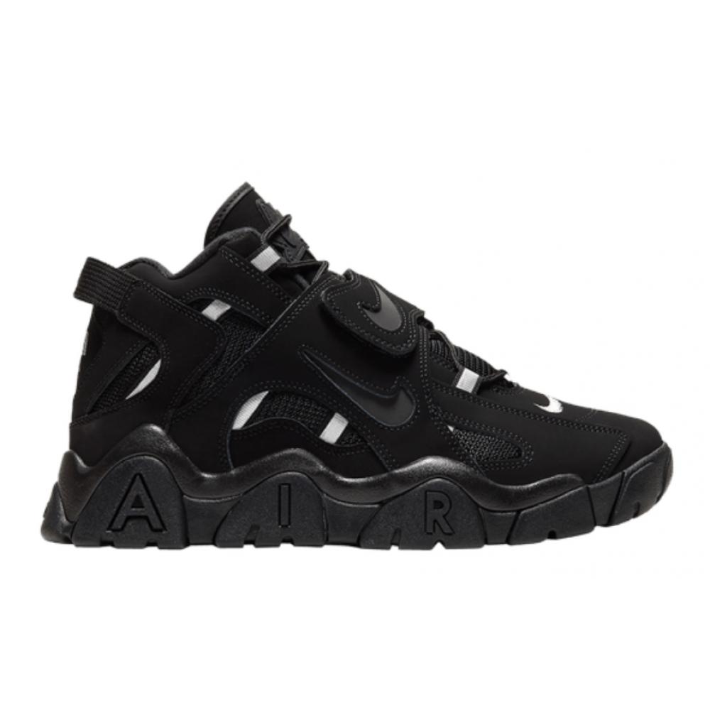 Nike Air More Uptempo 96 Barrage Mid Qs black (черные)