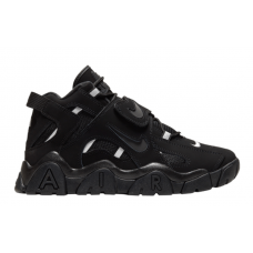 Nike Air More Uptempo 96 Barrage Mid Qs black (черные)