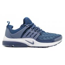 Nike Air Presto blue white (синие с белым)