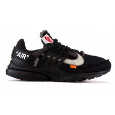 Nike Air Presto X Off White black (черные)