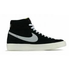 Nike Blazer Mid Black (Черные)