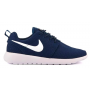 Nike Roshe Run blue white (синие с белым)