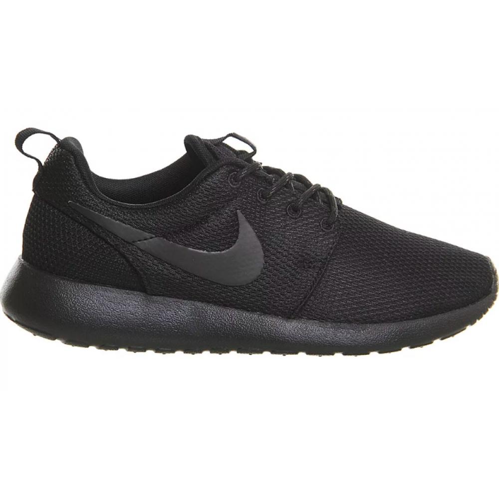 Nike Roshe Run All black (черные)