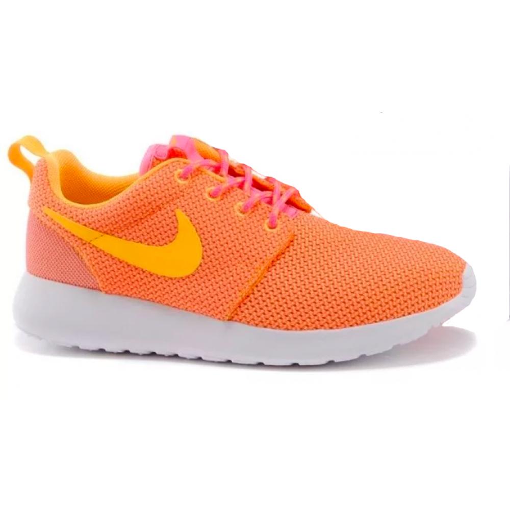 Nike Roshe Run orange (оранжевые)
