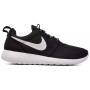 Nike Roshe Run black white (черные с белым)