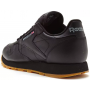 Reebok Classic Leather Black (Черные с коричневым)