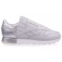 Reebok Classic Leather Gray White (Серыес белым)