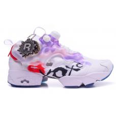 Reebok Insta Pump Fury Vetements X Pink White (Белые с розовым)