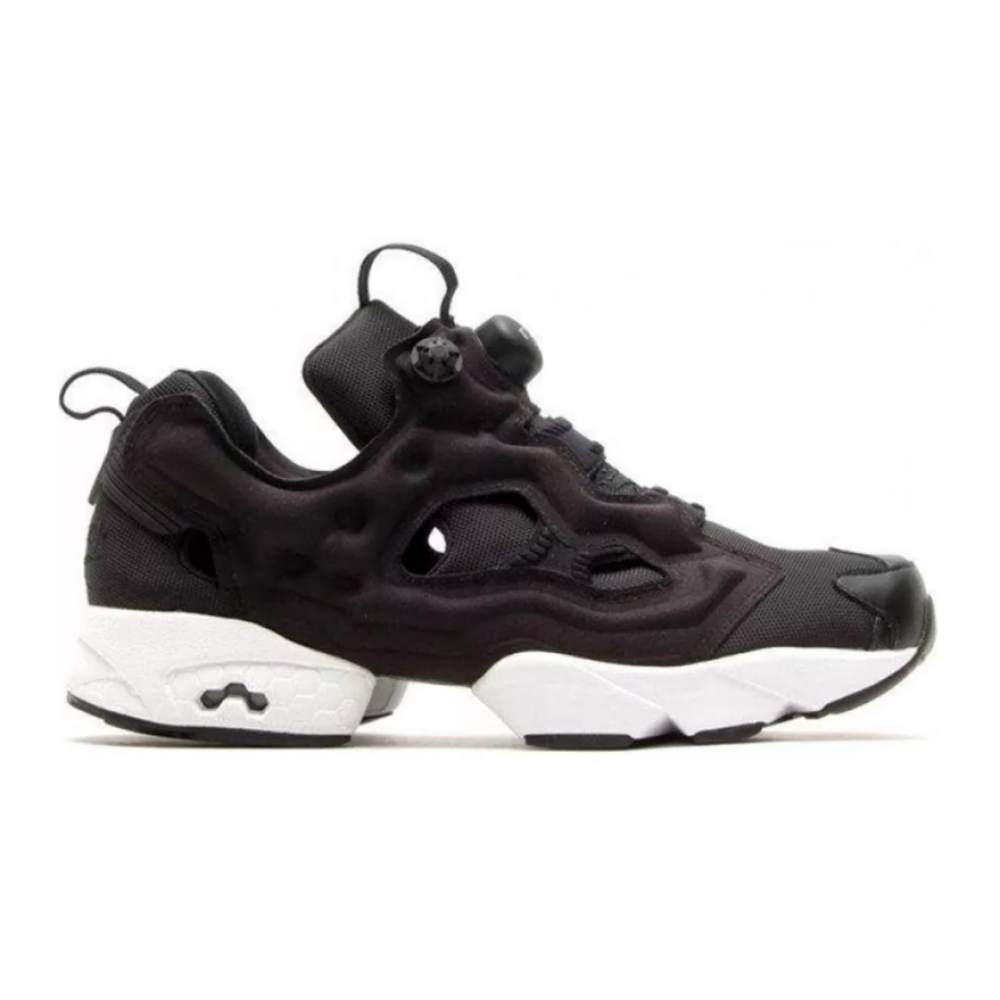 Reebok Insta Pump Fury Black White (Черные с белым)