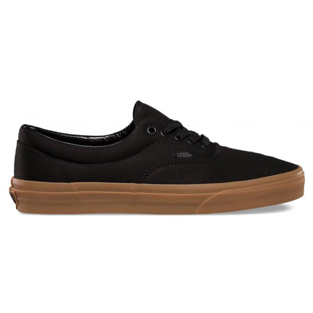 Vans Era Black Brown (черные с коричневым)