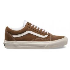 Vans Old School Brown White (коричневые с белым)